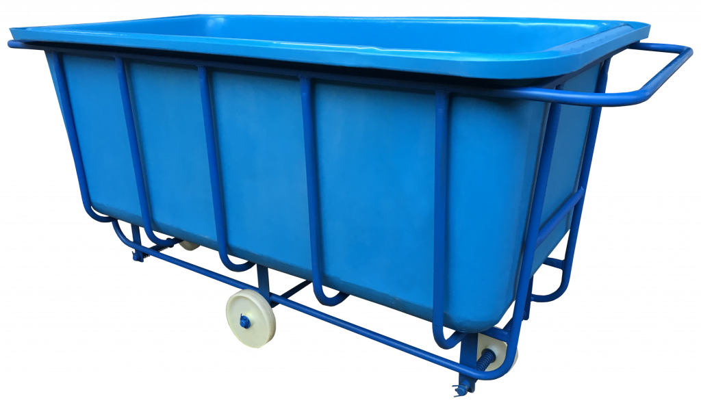 Bryant Chassis Truck with rotomoulded blue plastic liner