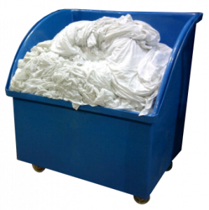 Laundry Barrow for high volume Linen and Laundry Handling