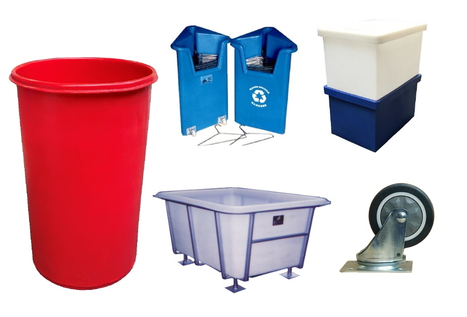 Materials handling equipment and accessories