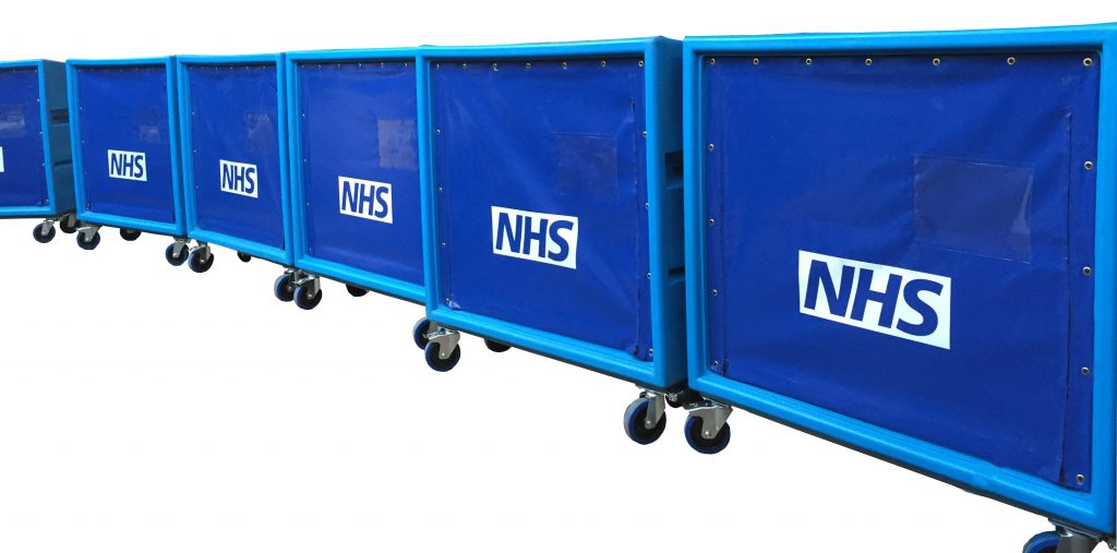 Bryant Linen Exchange Trolleys for the NHS