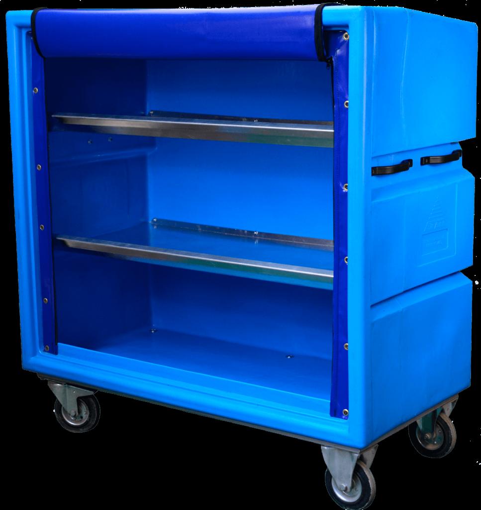 Bryant model IDC293X with aluminium shelves (cover raised)