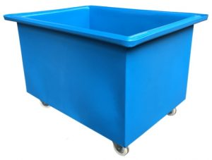 Bryant Plastic Truck blue with castors