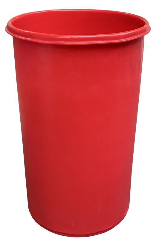 Heavy duty plastic bins and tubs for commercial and industrial use