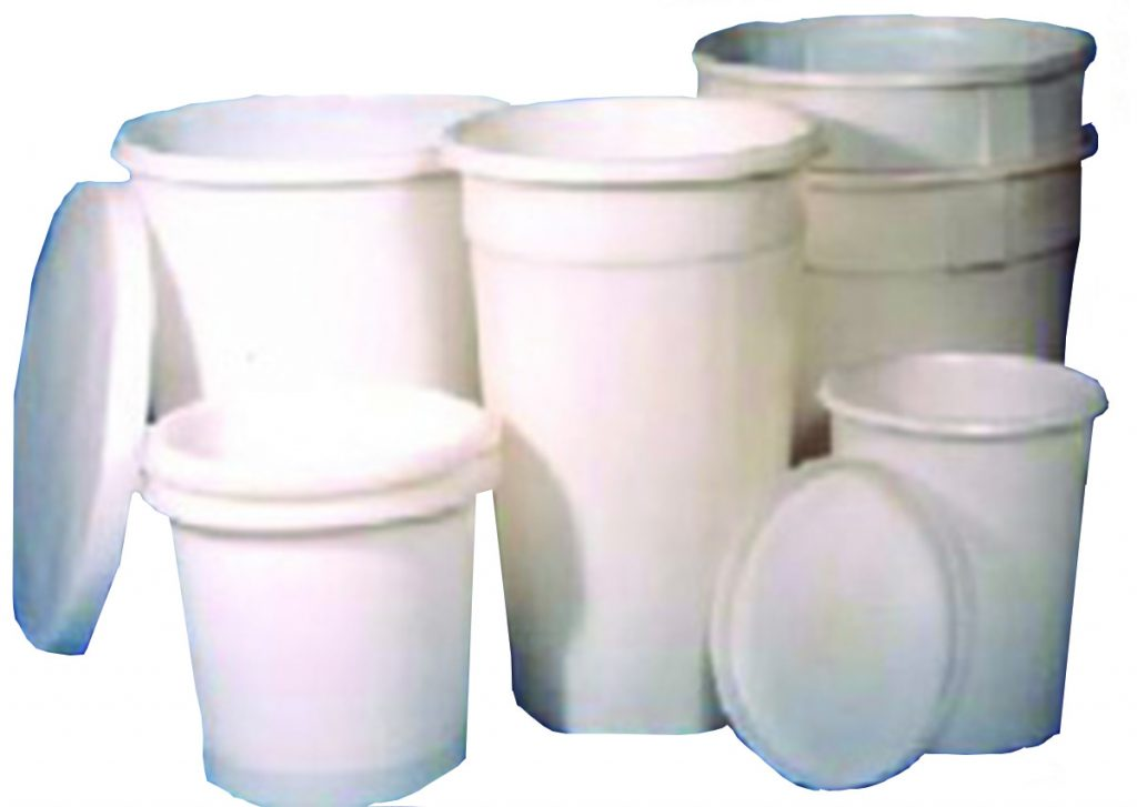 Plastic Tubs and bins in different sizes