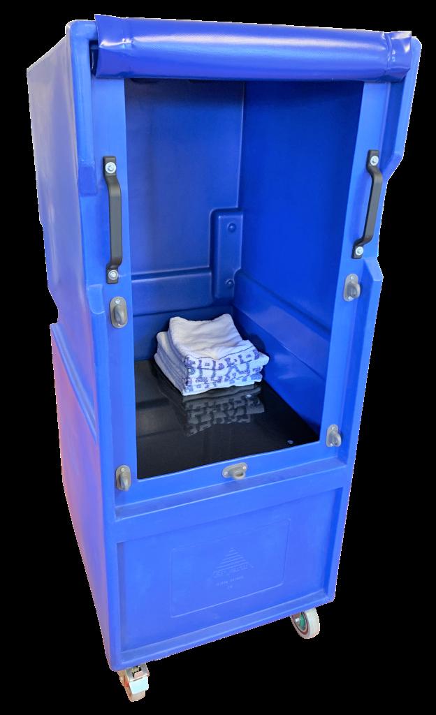 CLMLC503 Unique plastic roll cage with constant level platform