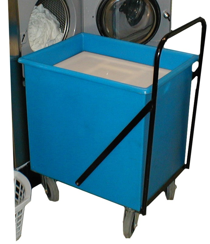 Laundry Trolley incorporating Self-Levelling unit