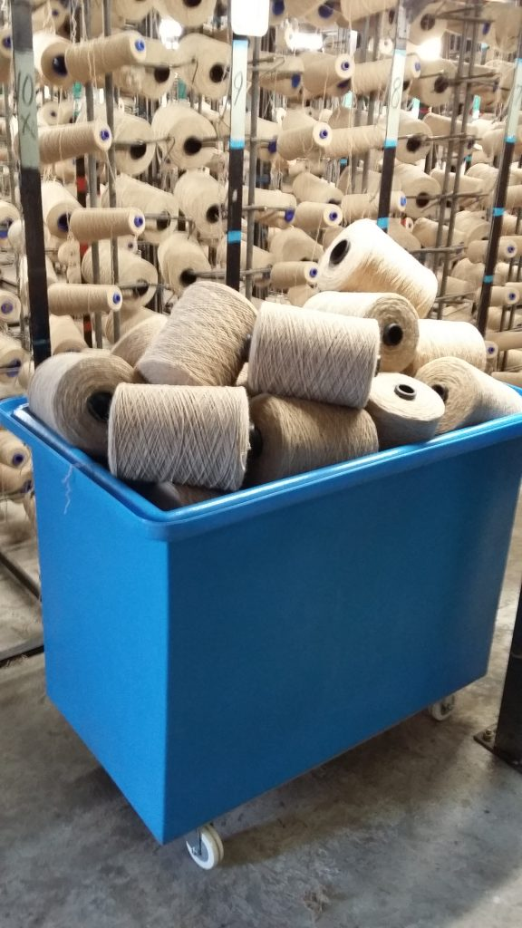 Plastic Creel Tub for the textile industry