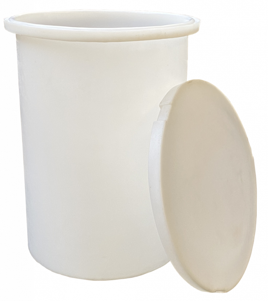 Plastic Bins with lids Textile manufacturing equipment