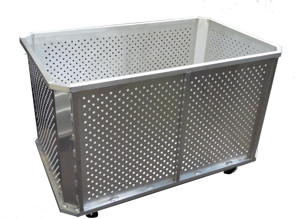 Fabricated metal Steaming Cart made custom built