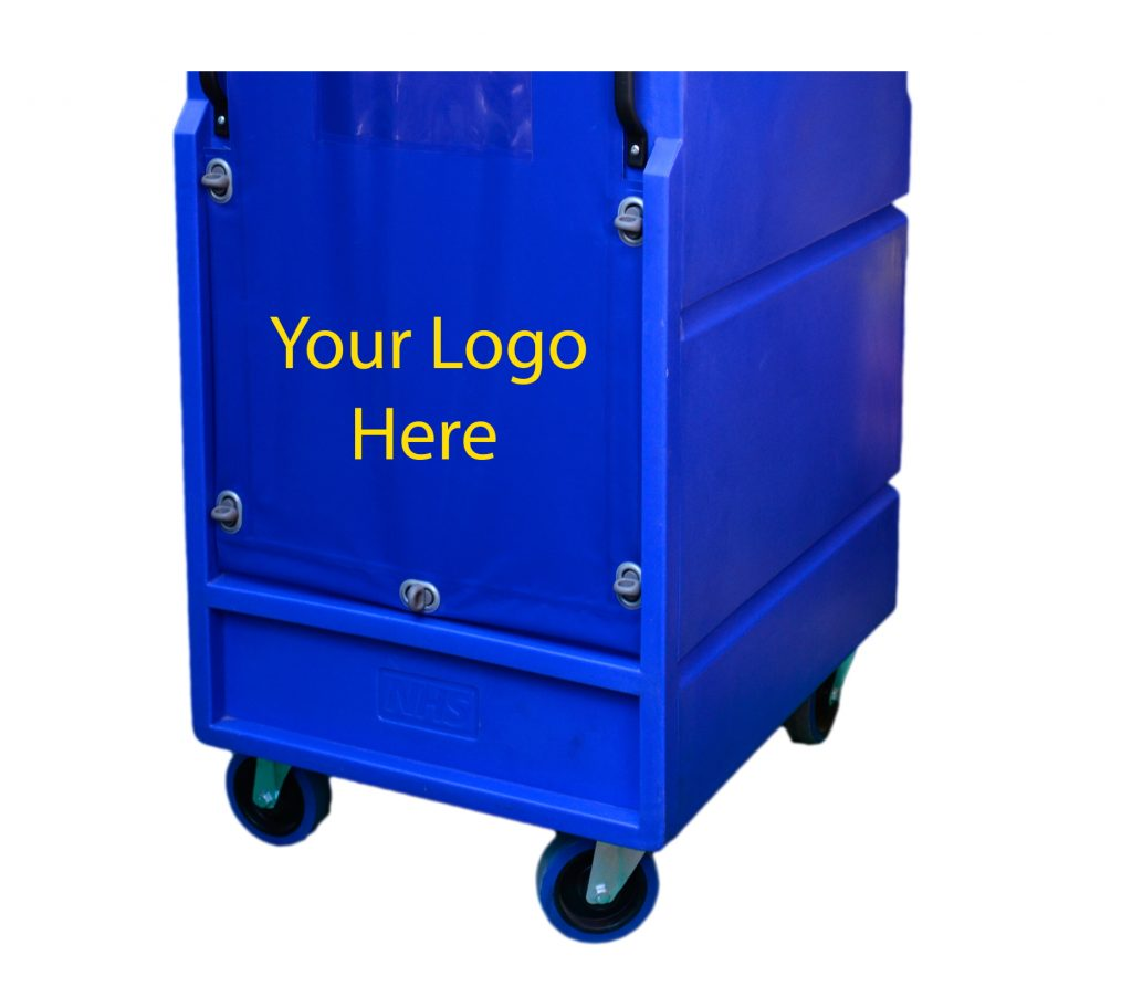 Your logo can appear on your roll cage body or cover