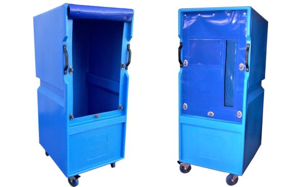Plastic Laundry Cage Bryant Model LC503